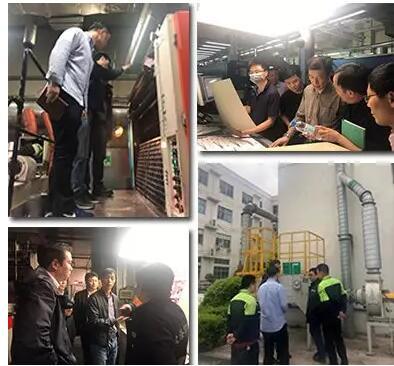 上海生态环境局组织对印刷企业进行VOCs执法抽查